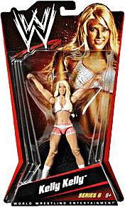 Mattel WWE Wrestling Basic Series 6 Action Figure Kelly Kelly