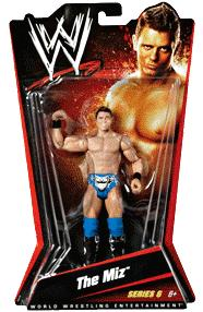 Mattel WWE Wrestling Basic Series 6 Action Figure The Miz Very Hard to Find!