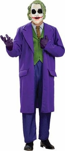 Batman The Dark Night Rubies Costume #17499 The Joker Deluxe Adult Plus Size