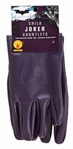 Batman The Dark Night Rubies Costume #8227 The Joker Child Gloves