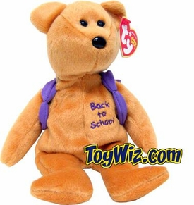 Ty Beanie Baby Books the Bear (Purple)