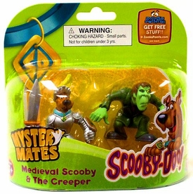 Scooby-Doo Mystery Mates Figure 2-Pack Medieval Scooby & The Creeper