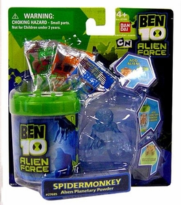 Ben 10 LOOSE Planetary Powder Set Spidermonkey