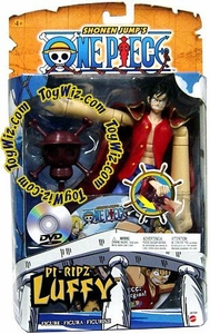 One Piece Mattel Deluxe Power Ripz Action Figure Pi-Ripz Luffy