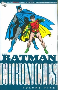DC Comic Books Batman Chronicles Vol. 5 Trade Paperback