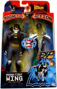 The Batman EXP Extreme Power Magnet Lok Action Figure Magna Fight Wing Batman