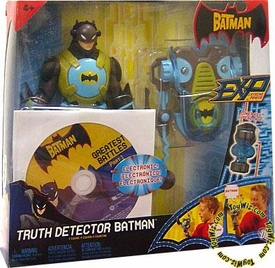 The Batman EXP Extreme Power Deluxe 8 Inch Electronic Action Figure Truth Detector Batman