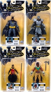 DC Direct Batman Incorporated Series 1 Set of 4 Action Figures [Batman, Knight, Man of Bats & Damian as Robin]