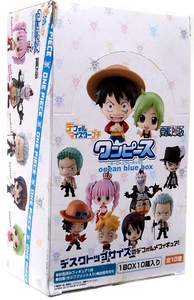 One Piece Bandai Mini PVC Ocean Blue Deformeister Petit  [10 Piece Set]