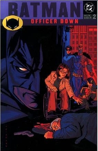 DC Comic Books Batman Officer Down Trade Paperback