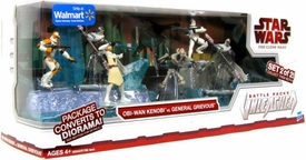 Star Wars 2009 Exclusive Battle Packs Unleashed Obi-Wan Kenobi vs. General Grievous [2 of 2]