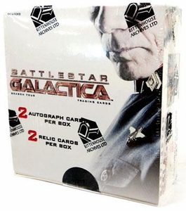 Battlestar Galactica Season 4 Collectible Trading Card Booster Box [24 Packs]