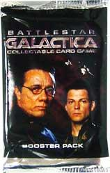 Wizkids Battlestar Galactica Card Game Booster Pack