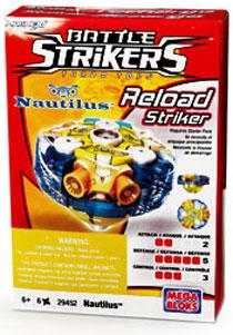 Magnext Battle Strikers Turbo Tops #29452 Nautilus