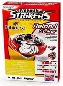 Magnext Battle Strikers Turbo Tops #29453 Ninjitsu