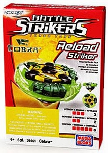 Magnext Battle Strikers Turbo Tops #29461 Cobra