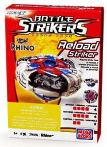 Magnext Battle Strikers Turbo Tops #29459 Rhino