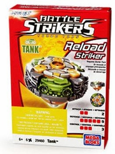 Magnext Battle Strikers Turbo Tops #29460 Tank