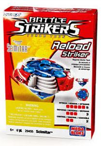 Magnext Battle Strikers Turbo Tops #29455 Scimitar