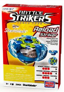 Magnext Battle Strikers Turbo Tops #29454 Sharkblade