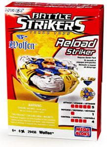 Magnext Battle Strikers Turbo Tops #29456 Wolfen