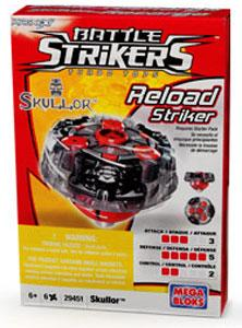 Magnext Battle Strikers Turbo Tops #29451 Skullor