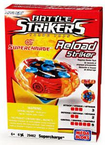 Magnext Battle Strikers Turbo Tops #29462 Supercharge