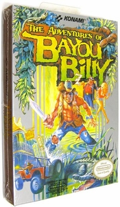 Nintendo Entertainment System NES Factory Sealed Cartridge Game Adventures of Bayou Billy
