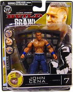 WWE Wrestling Build N' Brawl Series 7 Mini 4 Inch Action Figure John Cena
