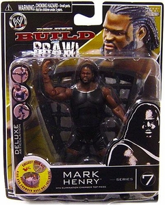 WWE Wrestling Build N' Brawl Series 7 Mini 4 Inch Action Figure Mark Henry