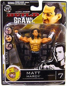 WWE Wrestling Build N' Brawl Series 7 Mini 4 Inch Action Figure Matt Hardy