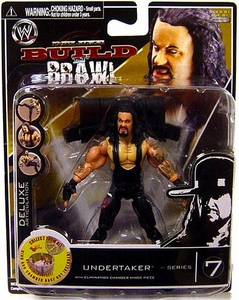 WWE Wrestling Build N' Brawl Series 7 Mini 4 Inch Action Figure Undertaker