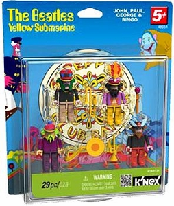 K'NEX Figure Set #48051 Beatles Yellow Submarine Series 2 [John, Paul, George & Ringo in Sgt. Pepper Costumes]