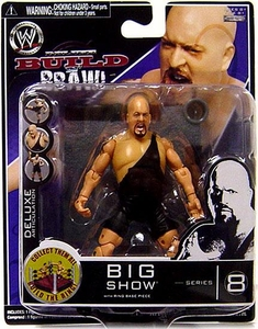 WWE Wrestling Build N' Brawl Series 8 Mini 4 Inch Action Figure Big Show