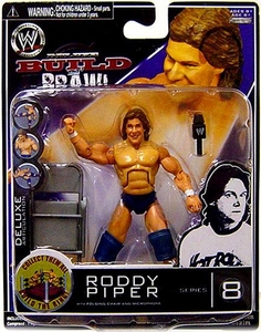 WWE Wrestling Build N' Brawl Series 8 Mini 4 Inch Action Figure Roddy Piper