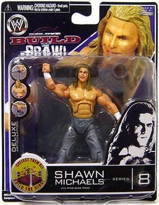 WWE Wrestling Build N' Brawl Series 8 Mini 4 Inch Action Figure Shawn Michaels