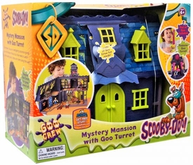 Scooby-Doo Mystery Mates Deluxe Playset Mystery Mansion with Goo Turret