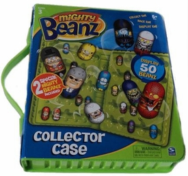 Mighty Beanz Series 3 {Green} Collector Carrying Case [Includes 2 Exclusive Special Edition Mighty Beanz!]