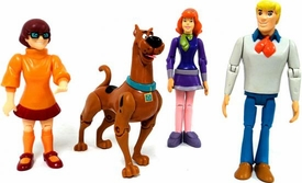 Scooby-Doo Set of 4 LOOSE Figures Fred, Scooby-Doo, Velma, & Daphne
