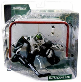 McFarlane Toys NHL Sports Picks Series 1 Action Figure Ed Belfour (Dallas Stars) Logo on Water Bottle Chase Variant