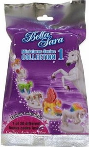 Bella Sara Horses Collectible Miniatures Series 1 Booster Pack