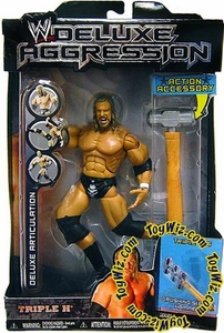 WWE Jakks Pacific Wrestling DELUXE Aggression Series 5 Action Figure HHH Triple H