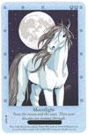 Bella Sara Horses Trading Card Game Series 3 Northern Lights Single Card Common 14/55 Moonlight