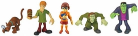 Scooby-Doo Mystery Mates Mini Figure 5-Pack Scooby, Creeper, Shaggy, Velma & Frankenstein