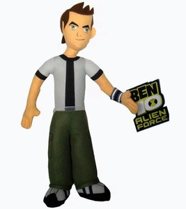 Ben 10 Alien Force 9 Inch Plush Figure Ben 10