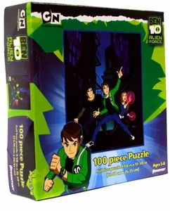 Ben 10 Alien Force 100 Piece Puzzle Ben, Kevin 11 & Gwen