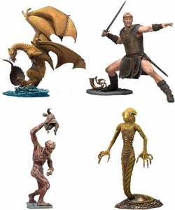 McFarlane Toys Beowulf Set of 4 Action Figures