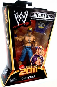 Mattel WWE Wrestling Elite Best of 2011 Action Figure John Cena BLOWOUT SALE!
