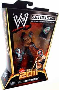 Mattel WWE Wrestling Elite Best of 2011 Action Figure Rey Mysterio BLOWOUT SALE!