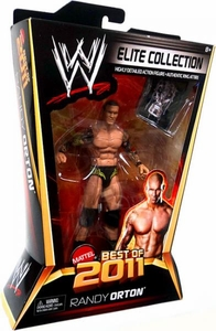 Mattel WWE Wrestling Elite Best of 2011 Action Figure Randy Orton